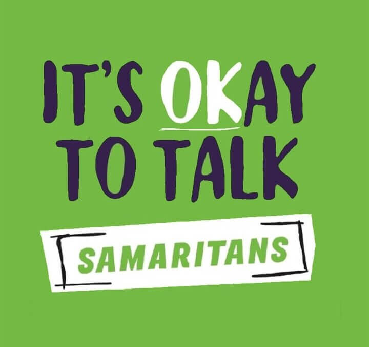 The Samaritans - It's okay to talk